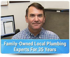 Family owned local plumbing experts