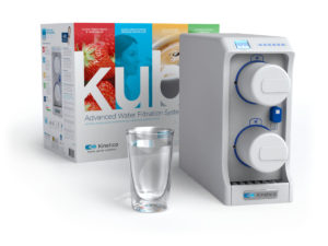 Kube® Advanced Water Filtration System on white background.